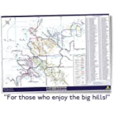 MunrOverground map – Munro Mountains, Scotland. Tubular Fells – 4 colour Litho printed. A1 (841mm x 594 mm), poster format, heavyweight 200gsm paper, suitable for framing. (2012) (Map)