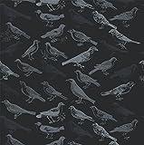 Mitchell Black Tweeter Wallpaper in Black