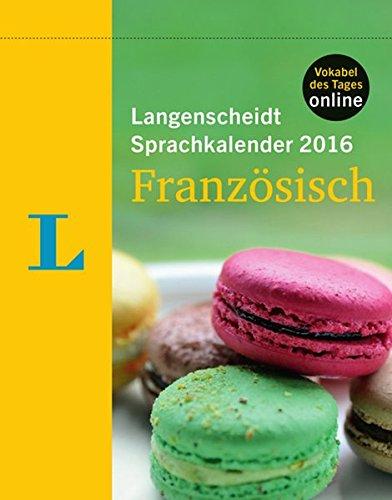 Langenscheidt Sprachkalender 2016 Französisch - Abreißkalender