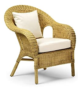 Jasper Occasional Wicker Chair Natural Home Life Direct Kitchen Home