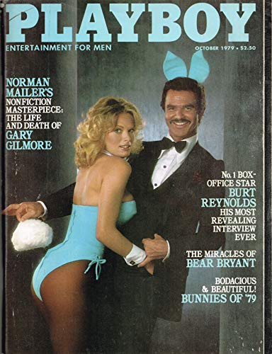 Playboy Vintage Magazine Back Issue Dated October 1979 with Burt Reynolds on the Cover Single Issue Magazine – 1979