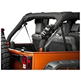 iFJF Adjustable Roll Bar 3 lb Fire Extinguisher Holder for 2007-2018 Wrangler JK Car Truck UTV MINGLI Vehicle Extinguisher Strap Mount Bracket Strap(Red)