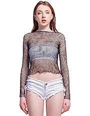 LemonGirl Women Lingerie Bodysuit Bodystockings Long Sleeve Sleepwear Babydoll Dress