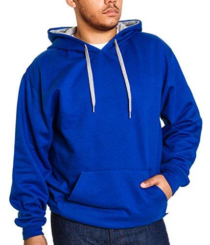 Royal Blue Dog Fleece Pullover - 8