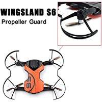 Leewa@ Wingsland S6 Drone Propeller Guards Protector for Quadcopter Blades Parts