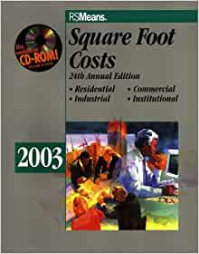 Square Foot Costs 2003 Means Square Foot Costs Barbara