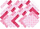 quilt charm packs - Pink Blender Charm Pack 40 Precut 5-inch Quilting Fabric Squares
