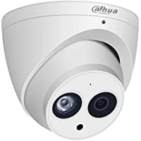 Dahua 6MP HD Security POE IP Camera, IPC-HDW4631C-A 2.8mm, All-Metal Eyeball Dome Camera with Built-in MIC, 165ft Smart…
