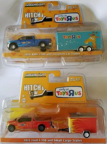 Greenlight Hitch & Tow Toys R Us Exclusive - 2016 Dodge Ram