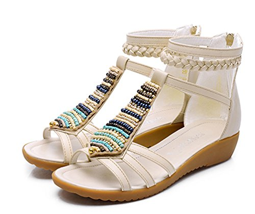 La Nago - Sandalias mujer Beige