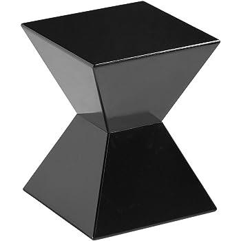 Amazon Com Sunpan Modern Rocco End Table Black Kitchen