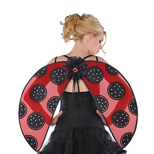 Ladybug Wings with Glitter Detailing - Adult/teen Size (Adult Ladybug Wings)