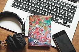 Cute Passport Holder - Passport Cover - Cute Passport Wallet - Passport Case Leather - Women Passport Cover - Family Passport Case - Designer Passport Wallet - Blossom