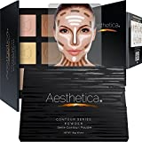 #5: Aesthetica Cosmetics Contour Kit - Powder Contour, Highlighter & Bronzer - Fair to Medium Skin Tones