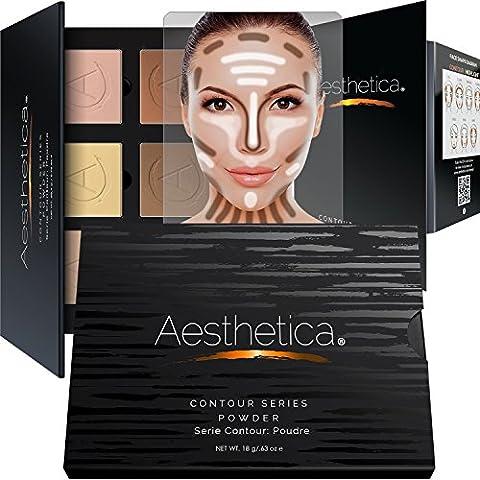 Aesthetica Cosmetics Contour and Highlighting Powder Foundation
