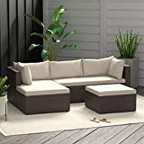 AmazonBasics Outdoor Patio Garden 3-pc Wicker
