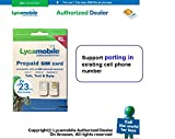 Port-In Support Lycamobile $23 plan preloaded with 2 month service sim card