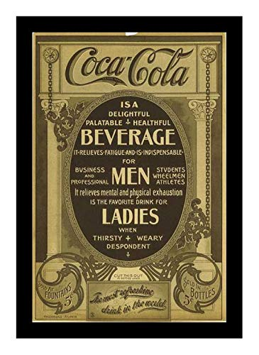 (Iron Ons 8 x 10 Photo Coca Cola Ad 1903 Vintage Old Advertising Campaign Ads)