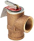 Watts 0342691 30 PSI Pressure Relief Valve, Bronze, 3/4'' 335 M2-030