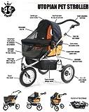 Utopian Pet Three Wheel Pet Stroller / Jogger