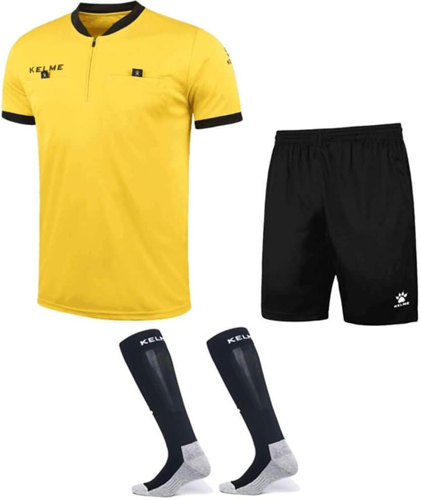 KELME - Conjunto de Camiseta de árbitro de fútbol – Incluye ...