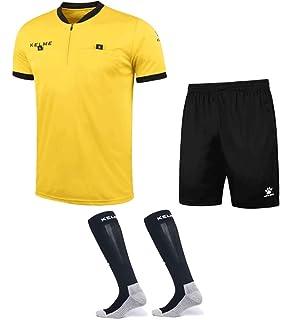 2e0cdaec32a Amazon.com   KELME Goalkeeper Jersey Long Sleeve Professional ...