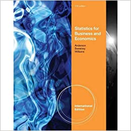 Statistics for business and economics 11th edition isbn 10 statistics for business and economics 11th edition isbn 10 0538471883 isbn 13 9780538471886 amazon books fandeluxe Choice Image