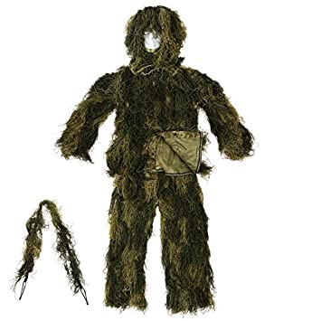 Fosco Ghillie Suit Special Forces/Traje Camuflaje Camo Woodland WL ...