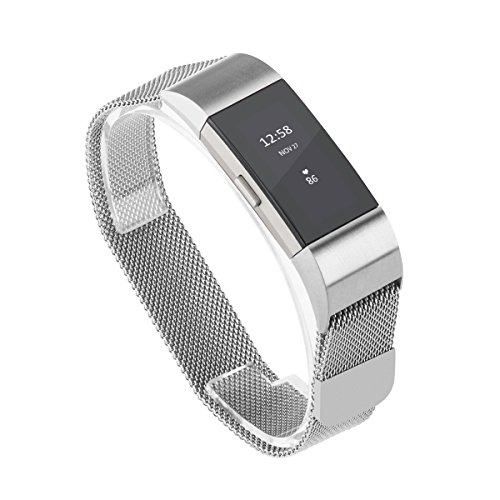 Fitbit UKCOCO Replacement Stainless Milanese