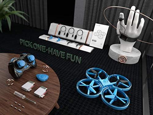 SNAPTAIN SP300 Drone LED 3 Modes de Contrôle, 360° Flips, Capteur Infrarouge, Induction de Gravité, Maintien de l'altitude pour Enfants et Débutants