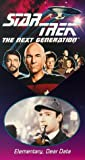 Star Trek - The Next Generation, Episode 29: Elementary, Dear Data [VHS]