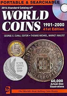 2014 Standard Catalog of World Coins 1901-2000 CD