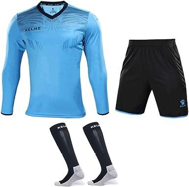 Amazon.com: Conjunto de uniforme de portero – Incluye camisa ...