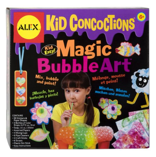 Alex Toys Bubbles (ALEX Toys  Kid Concoctions Magic Bubble Art)