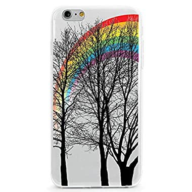 UV Printed TPU Case for iPhone 6 Plus or iPhone 6s Plus - Wifey Floral Paisley (Color Ink on White Case)