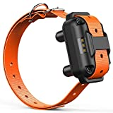 iSPECLE 880V Extra Receiver for Dog Training Collar, Rechargeable and Waterproof Shock Collar with Adjustable Collar Dog, Orange Review