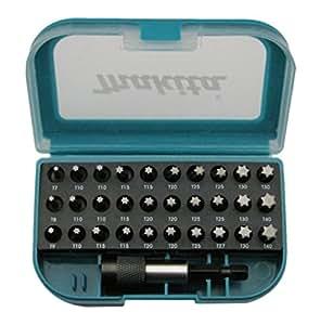 Makita P-73352 - Juego de accesorios de herramientas eléctricas (T9)