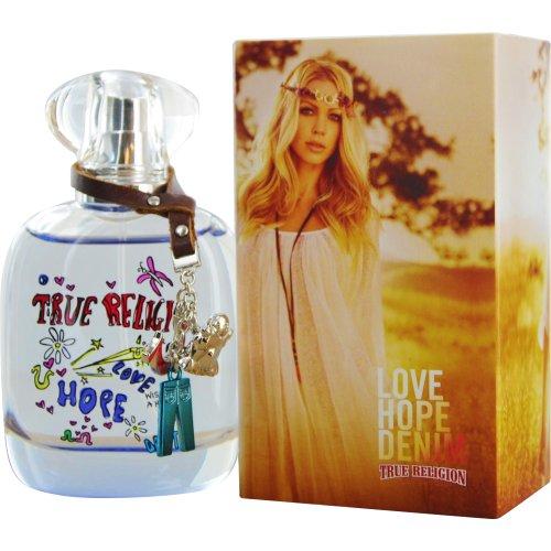 TRUE RELIGION LOVE HOPE DENIM 1.7/1.6 OZ EDP SPRAY FOR WOMEN