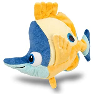 "Disney Finding Nemo Tad Mini Bean Bag Plush — 6"" (201812)"