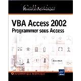 VBA access 2002