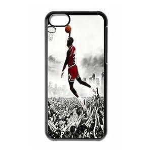 Custom High Quality WUCHAOGUI Phone case Super Star Michael Jordan Protective Case For iphone 5c iphone 5c - Case-2