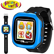 """Kids Game Smart Watch - Digital Wrist Sport Smartwatch 3-12 Year Boys Girls with 1.5"""" Touchscreen Camera Pedometer Alarm Outdoor Activity Fitness Tracker Summer Holiday Learning Toy Prime Gift"""