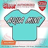 "Office Products : Siser Easyweed Heat Transfer Vinyl 15"" x 1 Foot - Aqua Mint"