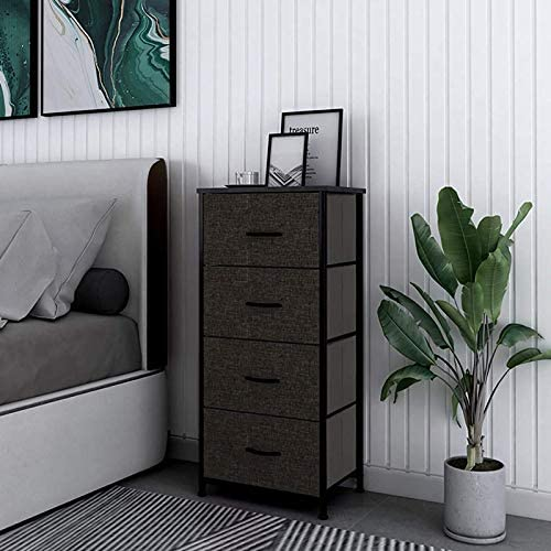 HOMOKUS Night Stand Storage Tower