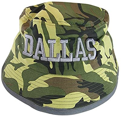 Dallas Men's Adult Size 2-Tone Bucket Hats