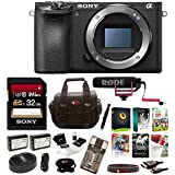 Sony Alpha a6500 Digital Camera with 2.95-Inch LCD (Body Only) w/Rode Video Mic GO On-Camera Mic Bundle