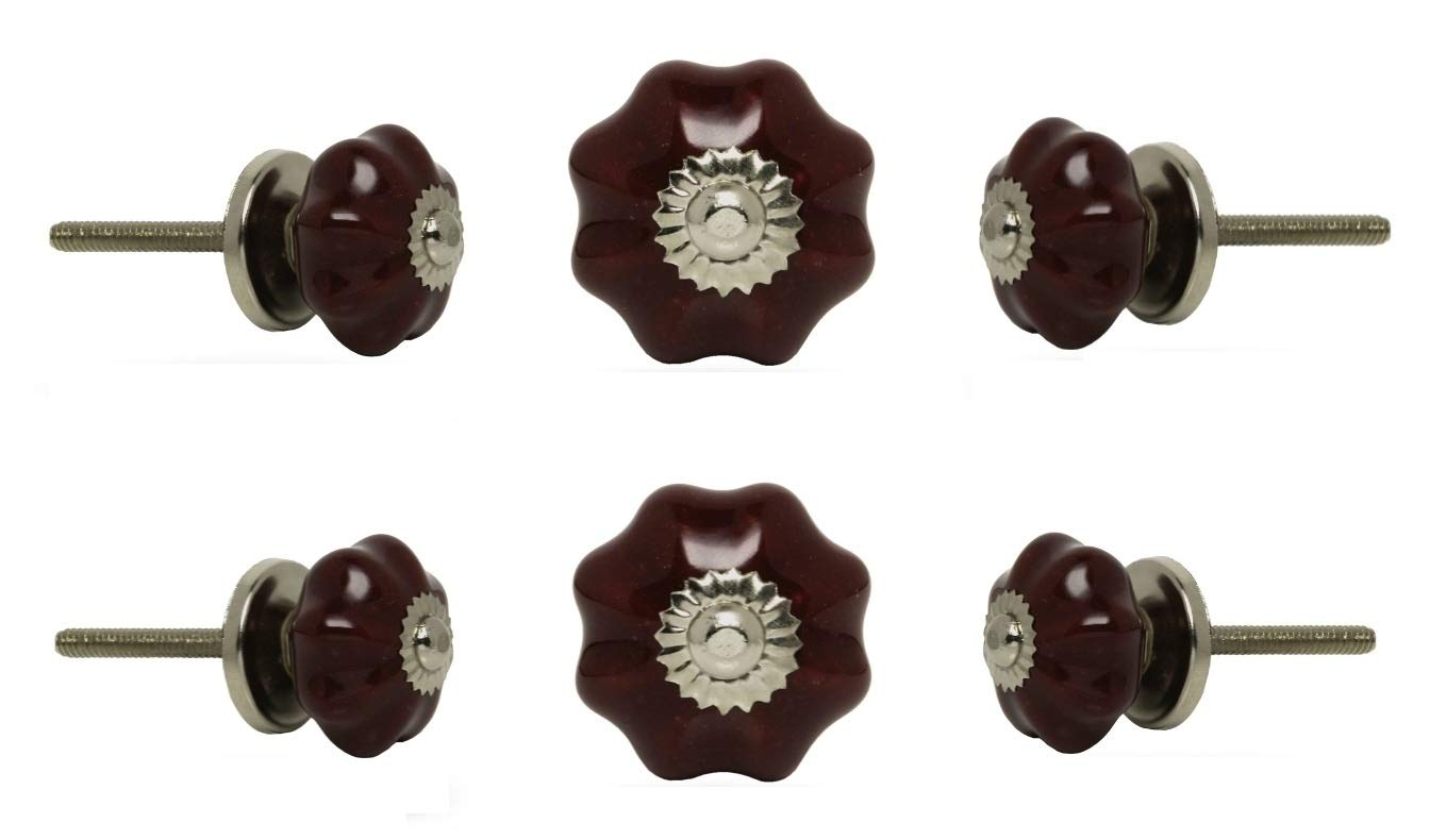 6 Tiradores de Ceramica / Porcelana (7V24N9QR)