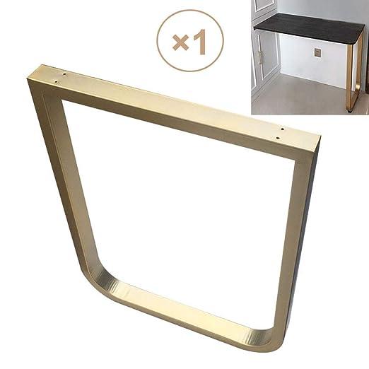 MZSH Patas de Mesa de Metal 72 cm de Altura Patas para Muebles de ...