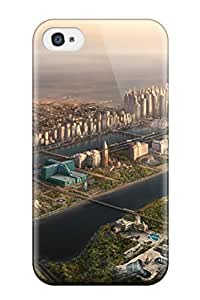 Cute Tpu Frances T Ferguson City Sci Fi Case Cover For Iphone 4/4s