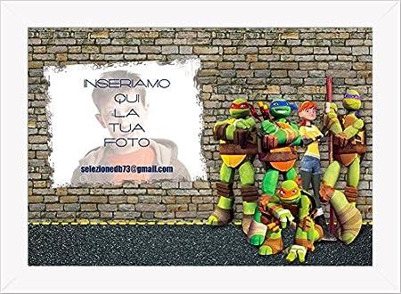 Cuadro Decorativo Tortugas Ninja personalizado 2: Amazon.es ...